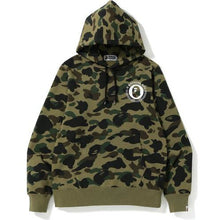 Load image into Gallery viewer, Bape 1st Camo Kanji Pullover Hoodie - Green Camo