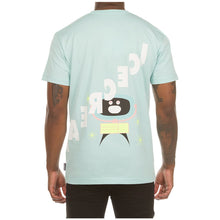 Load image into Gallery viewer, Ice Cream Pastel Turquoise Clock SS Tee (401-4200)