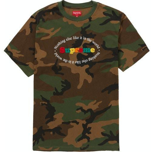 Supreme Nothing Else S/S Top - Camo