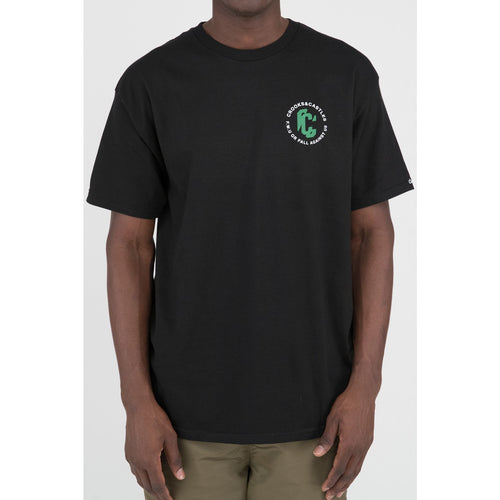Crooks & Castles Distortion Tee Black