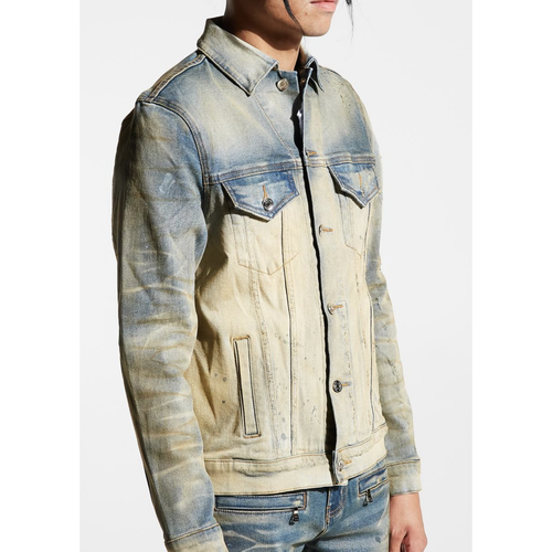 Embellish Vintage Dirty Wash Barrett Denim Jacket