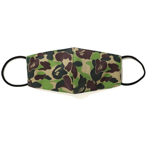 BAPE ABC Camo Mask (SS20) - Green