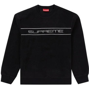 Supreme Polartec Crewneck - Black
