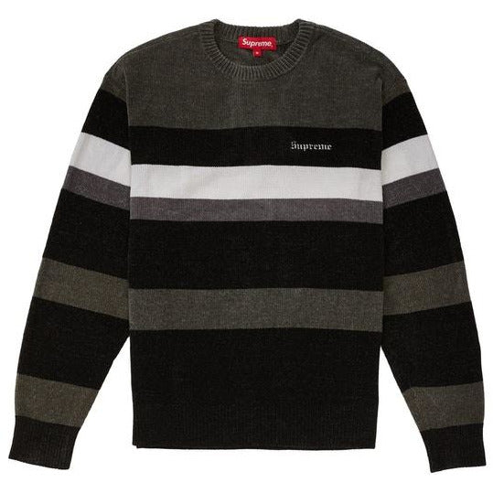 Supreme Chenille Sweater - Black
