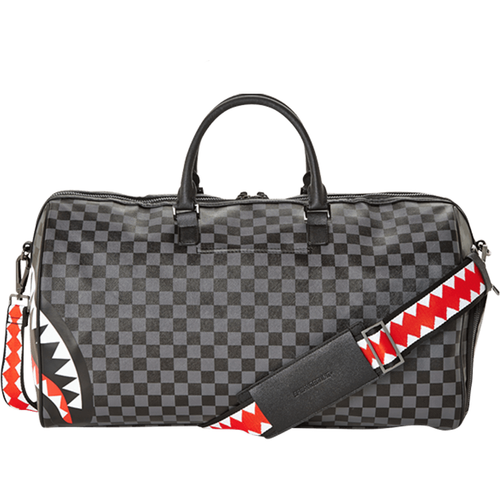 Sprayground Grey Sharks In Paris Duffle