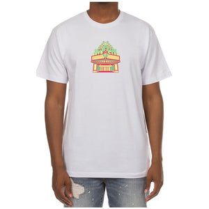 BBC White BB Cinema SS Tee (801-2206)