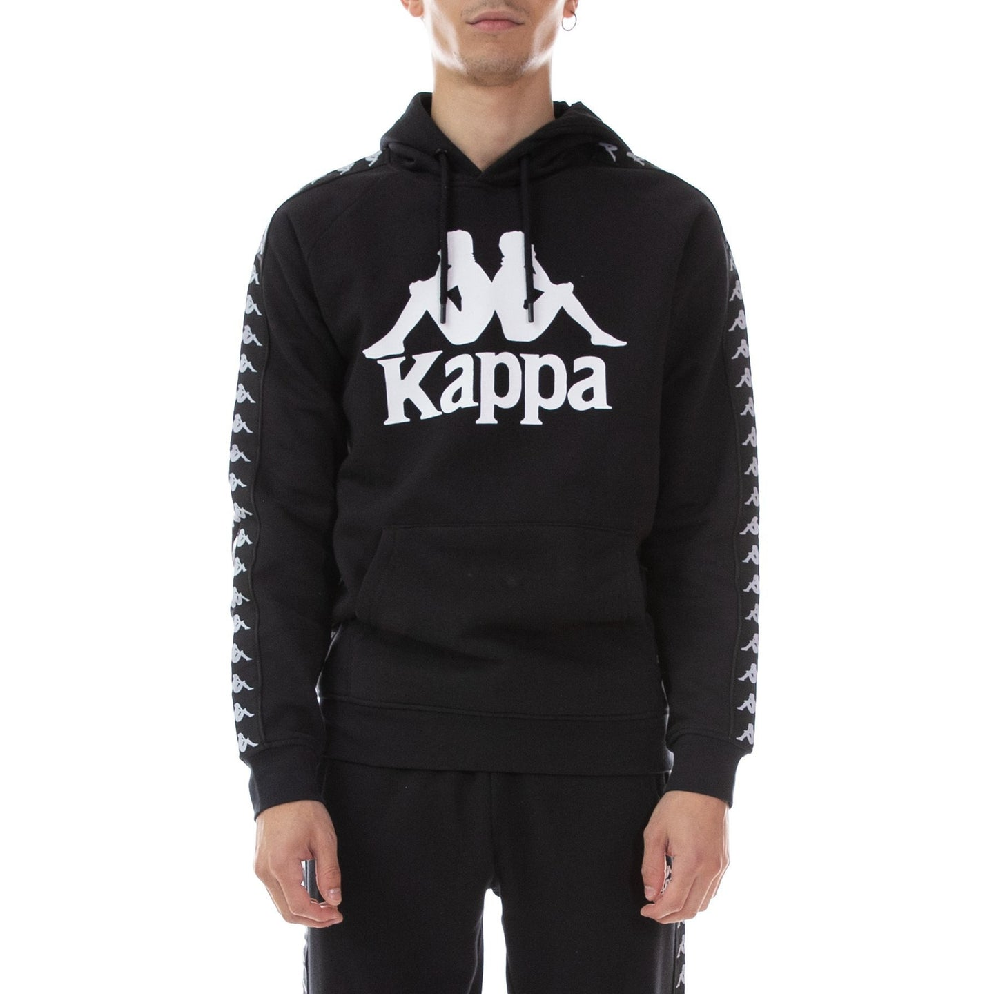 Kappa Black Authentic Hurtado Hoodie (3032WH20-981)