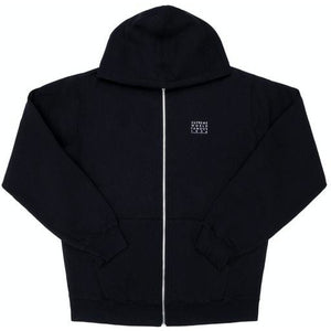 Supreme World Famous Zip Up Hooded Sweatshirt - Black