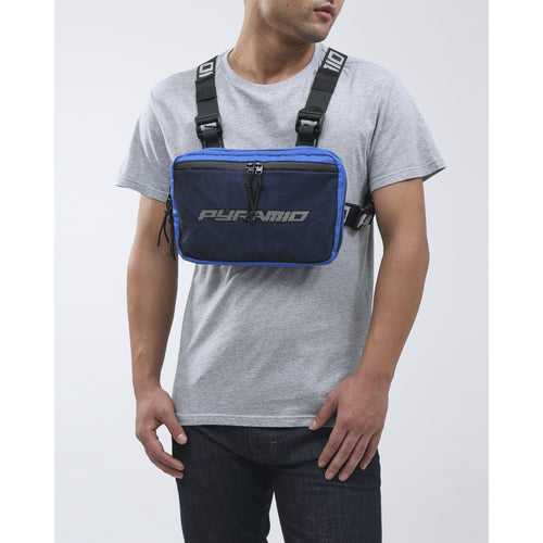 Black Pyramid Royal Blue Chest Rig Bag