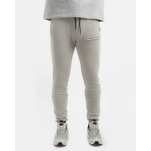 Black Pyramid Core 3D Rubber Patch Grey Joggers
