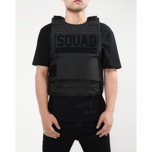 Hudson Black Squad Play Body Vest