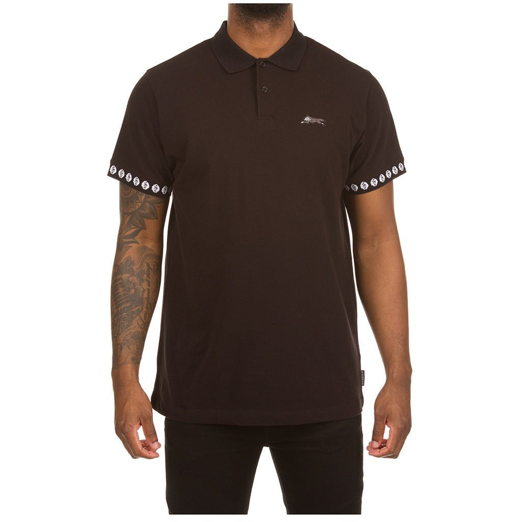 Ice Cream Staple SS Black Polo (401-6308)