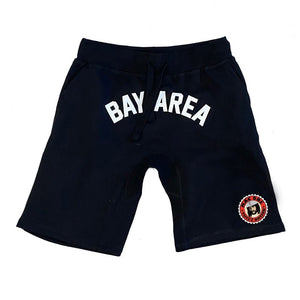 THIZZ NATION BAY AREA MAC DRE BLACK SHORTS