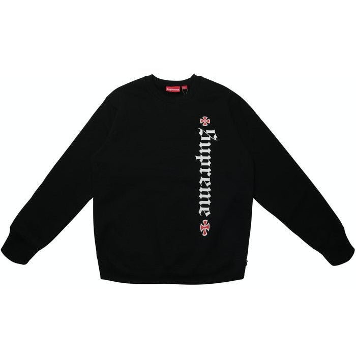 Supreme Independent Fuck the Rest Crewneck - Black