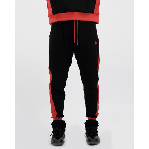 Black Pyramid Flight Inset Black Joggers (Y4162086-BLK)