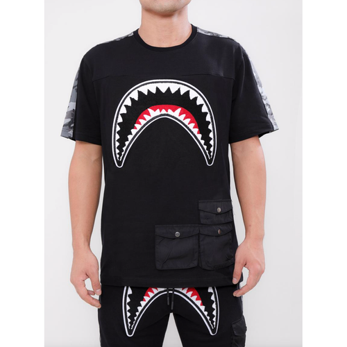 Hudson Utility Sharks Mouth Shirt Black (H1052930)