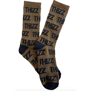 Thizz Nation Thizz Pattern Socks