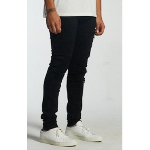 Embellish Black Distressed Wendel Jeans (EMBSUM20-123)
