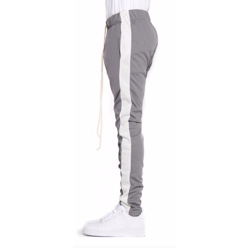 EPTM Grey Track Pants w/White Stripe