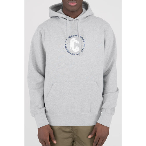 Crooks & Castles Heather Grey Distortion Hoodie
