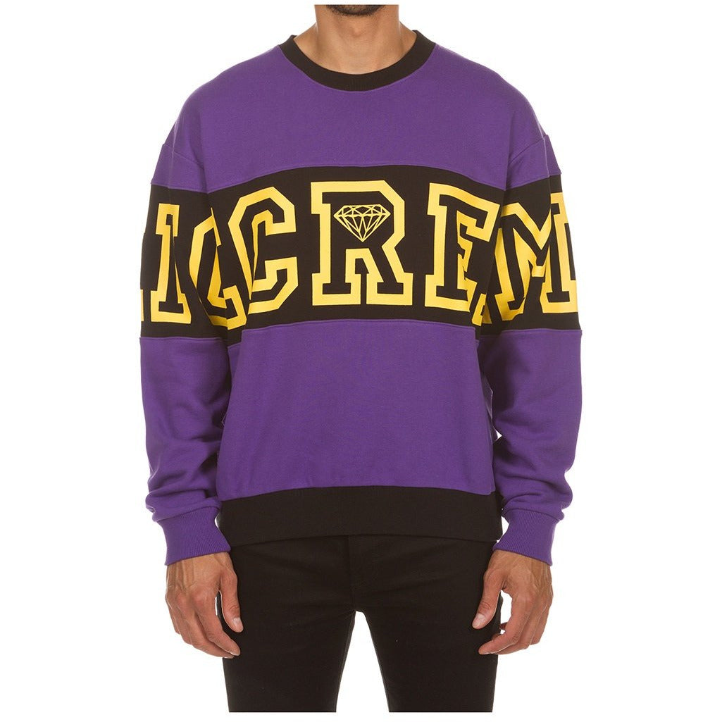 Ice Cream Loyal Prism Violet Crewneck (401-9311)