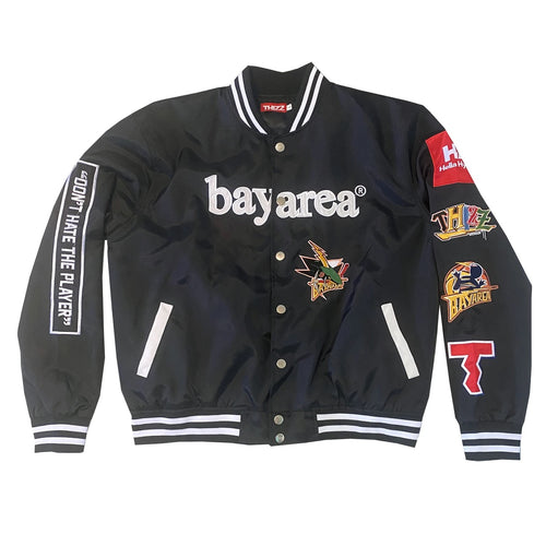 THIZZ Nation Bay Area Patch Jacket