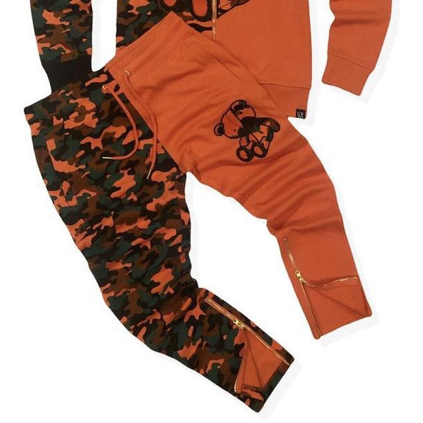Civilized Teddy Bear Orange Camo Pants Only