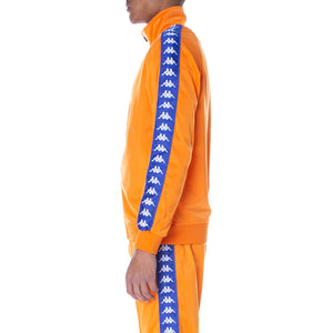 Kappa Orange-Blue 222 Banda Anniston Track Jacket (3502050-A1D)