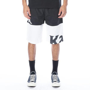 Kappa Black/White Authentic Sand Cameo Shorts (304S3B0-A02)
