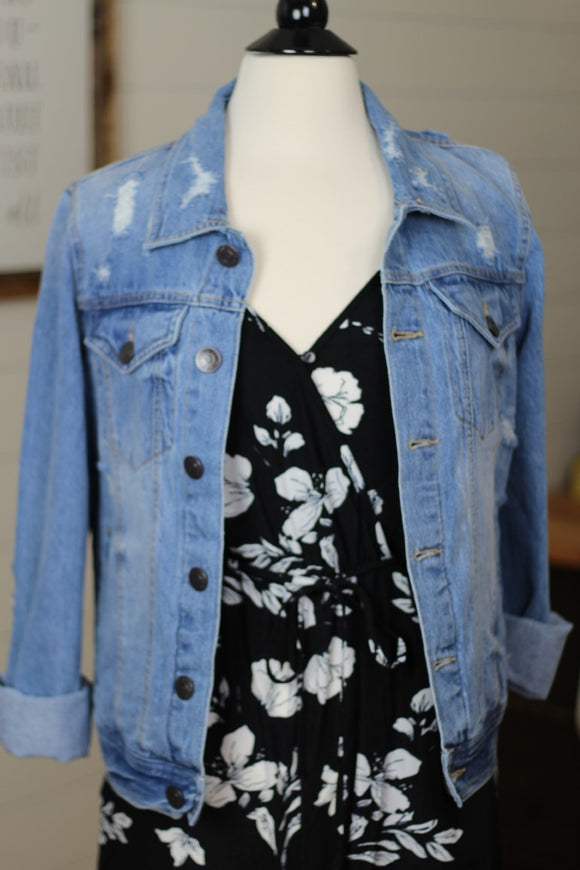 Fit for Fall Denim Jacket