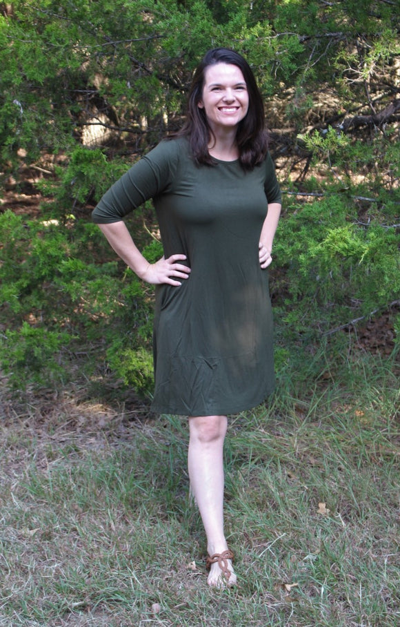 Endless Possibilities Olive Dress