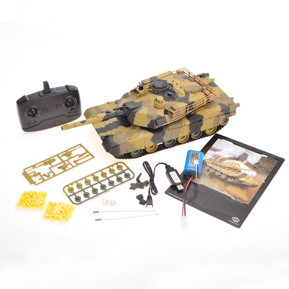 "IBOT 16"" Remote Controlled RC Airsoft Battle Tank"