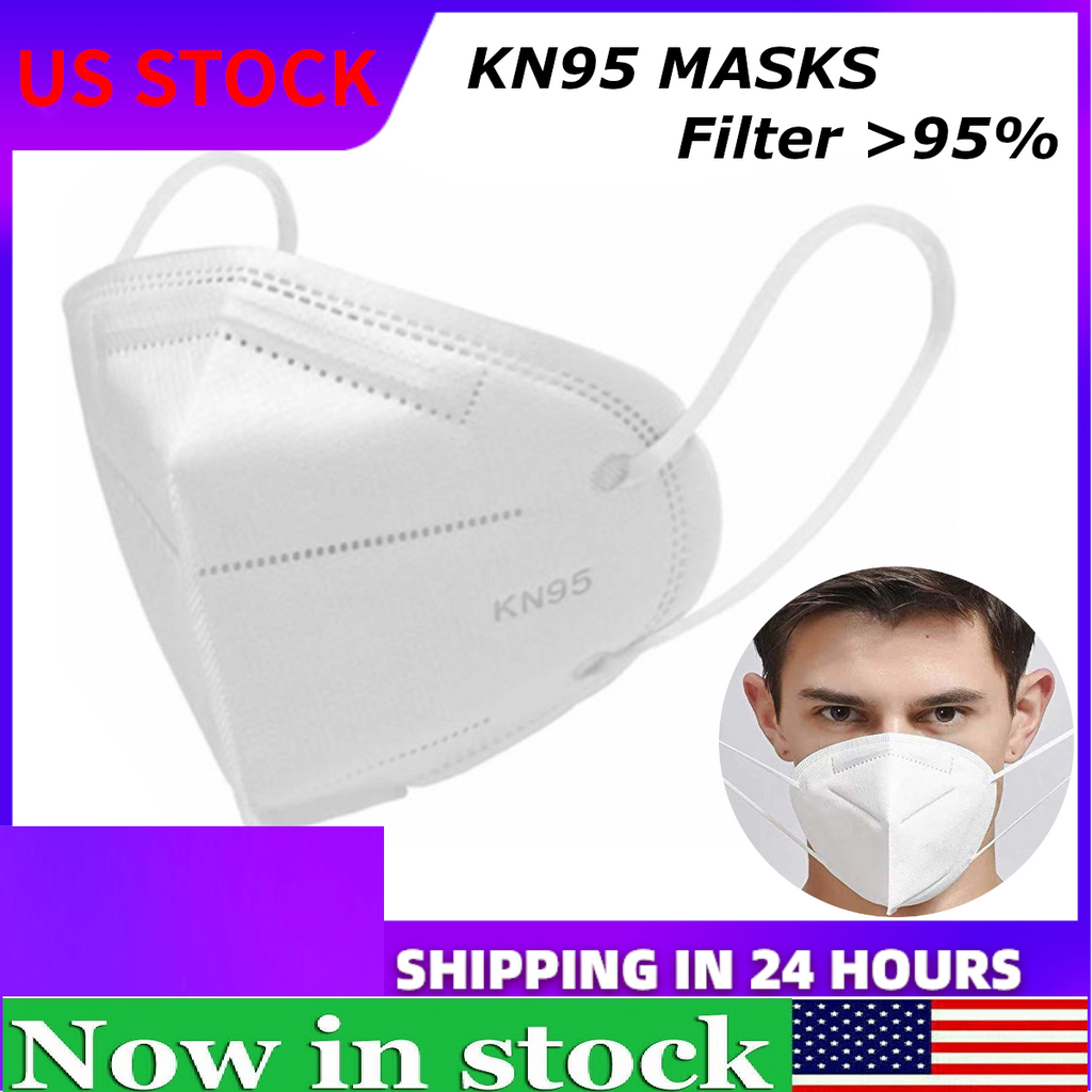 10x PM2.5 KN95 Face Mask Dust Roof Mouth Face Respirator Protection Masks