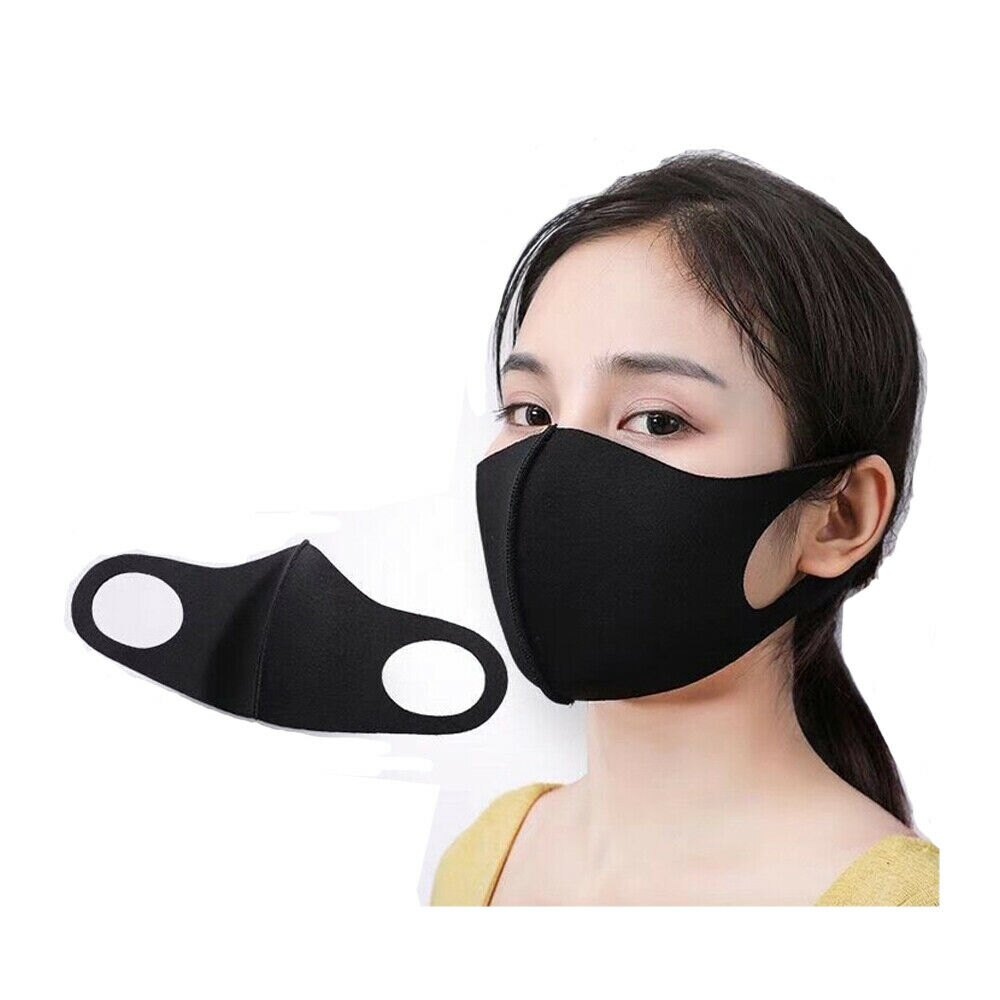 50 PCS x Washable Earloop Mask Cycling Anti Dust Mouth Face Mask Respirator