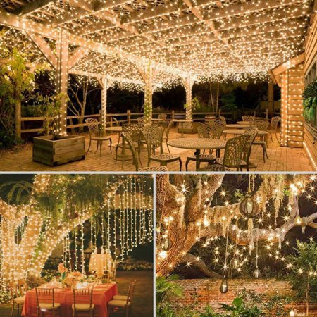 100 Micro LEDs Solar String Light with 33ft Long Copper Wire for Outdoor & Indoor Decor