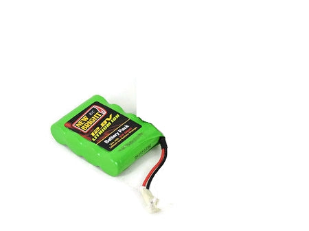 1 x Combo 12.8 Volts Battery Pack & AC Charger Wired for New Bright RC F/F Pro Predato - 80810