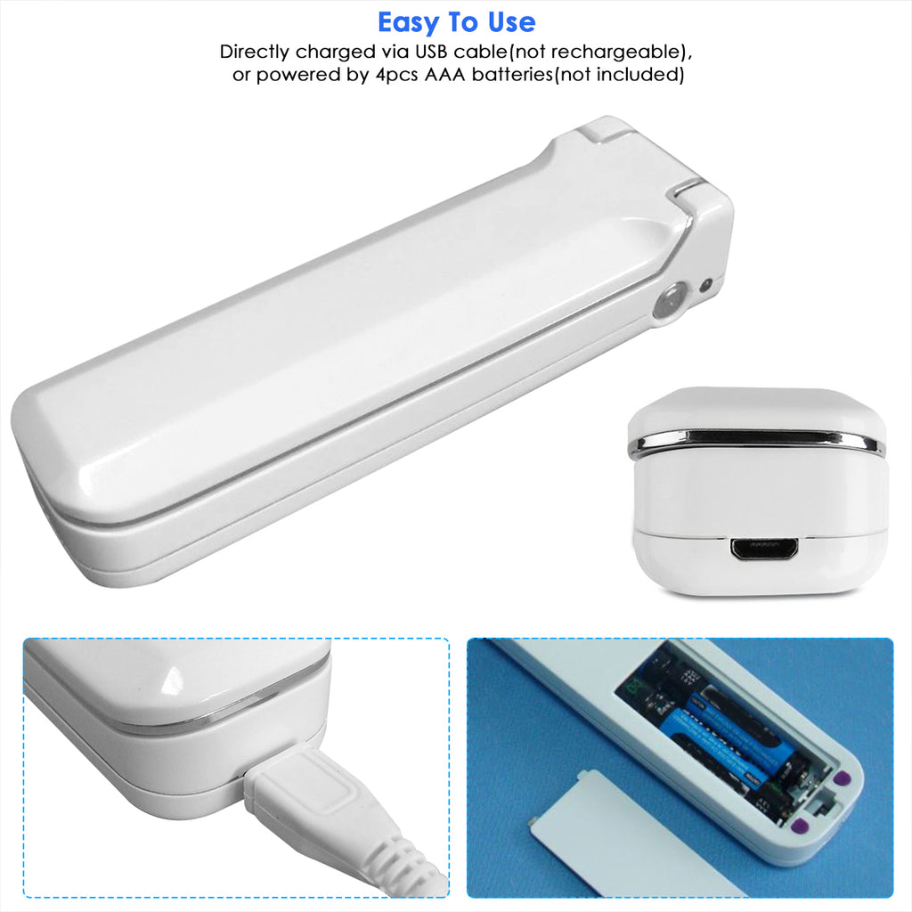 UV Wand Sanitizer Handheld UVC Light Disinfector Lamp Fouldable for Hotel Household Office Travel Ultraviolet Light for Fast Effective Sterilizing Easy to Kill up to 99.9% Germs