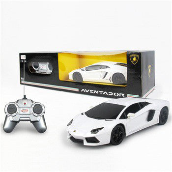 IBOT 1:24 Remote Controlled RC Aventador LP700 (White)