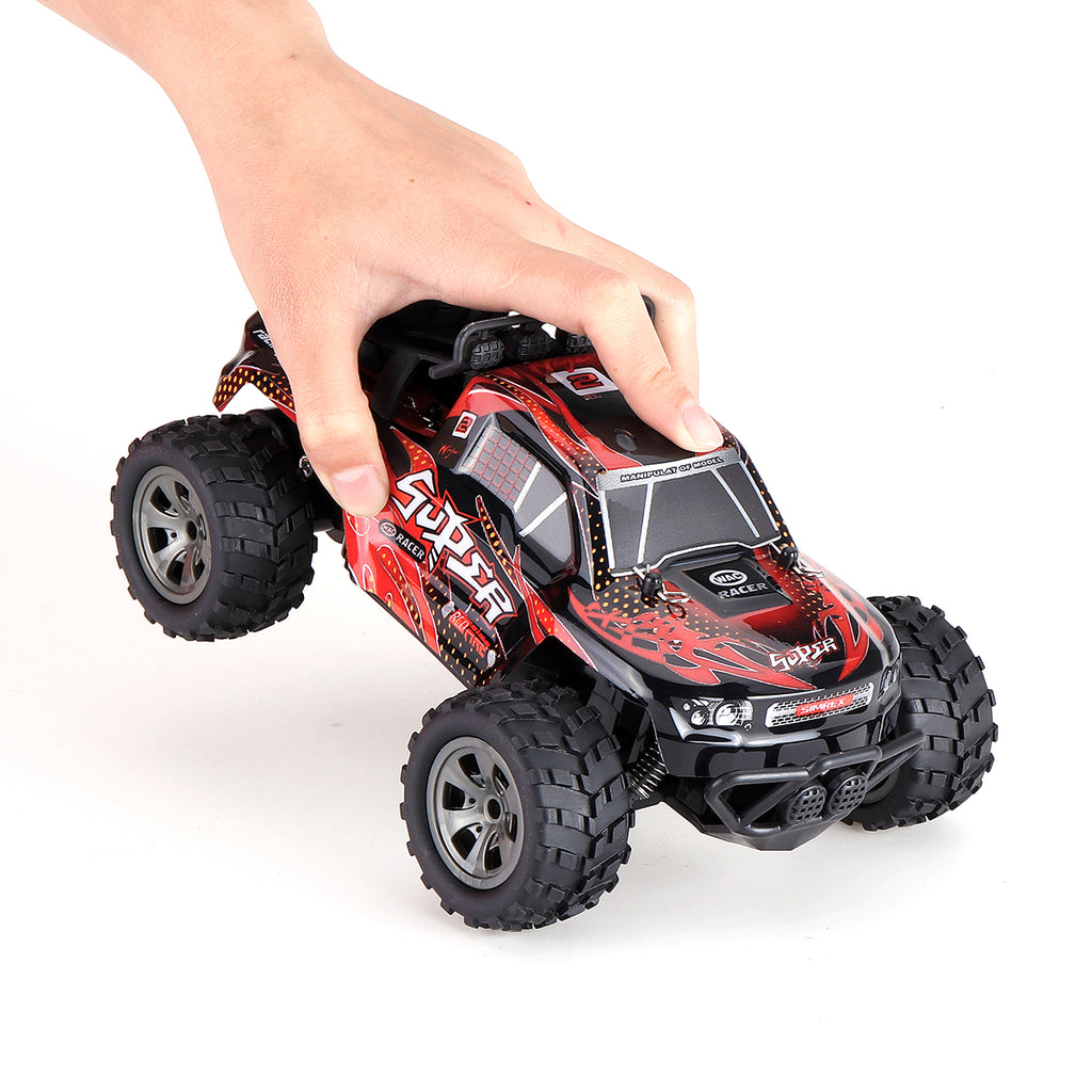 1:18 Scale RC Car Truck 2.4G 4WD High Speed Fast Remote Control Car - Red