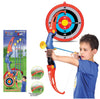 IBOT Kings Sport Toy Archery Bow And Arrow Set for Kids With Arrows, Target, And Quiver