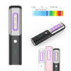Portable UV Sanitizer Wand, Portable UV-C Light for sanitizing Toys Mobile Daily Use Personal Items Kills Germs and Bacteria from all Surfaces (USB Charging, FREE Carry Case & Manual)