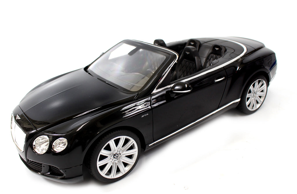IBOT 1:12 Remote Controlled RC Bentley Continental GT Convertible (Black)