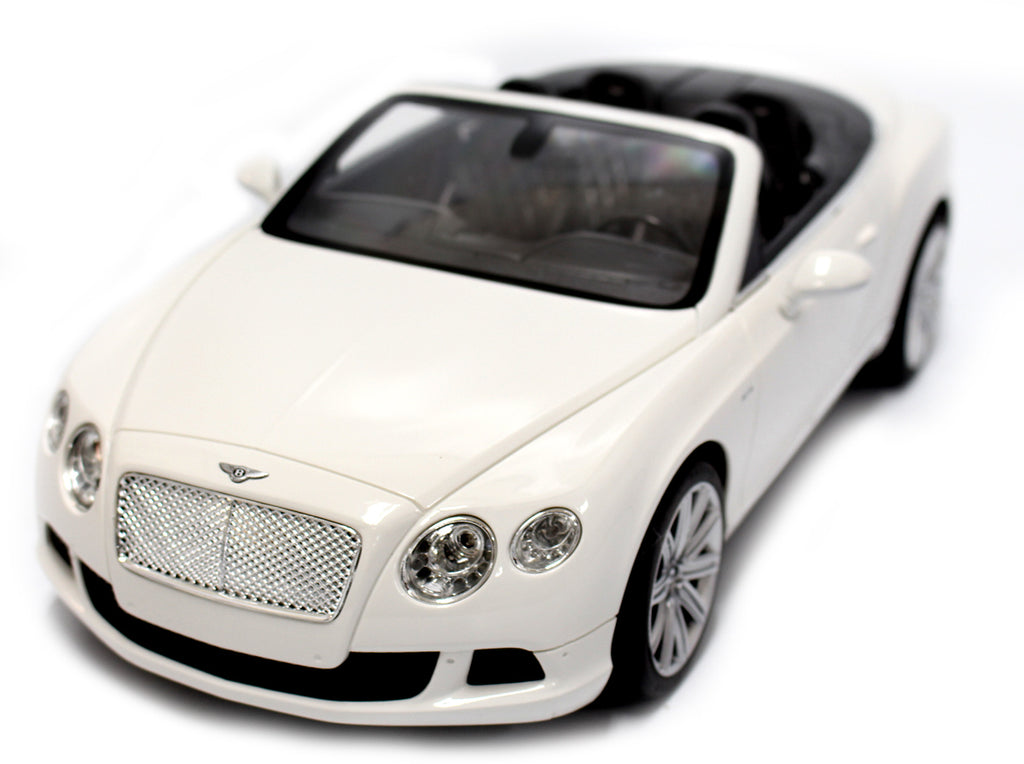 IBOT 1:12 Remote Controlled RC Bentley Continental GT Convertible (White)