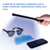 JAPJA UV Light Sanitizer Wand for Household, Cell Phone, Pet Areas. Ships within 48 Hours