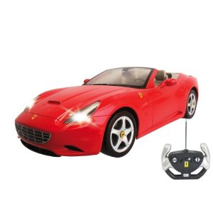 IBOT 1:12 Remote Controlled RC Ferrari California (Red)