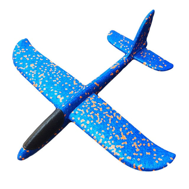 48CM Foam Plane Glider Hand Throw Airplane Glider Toy Planes EPP Outdoor Launch Kids Toys for Children Boys Gift