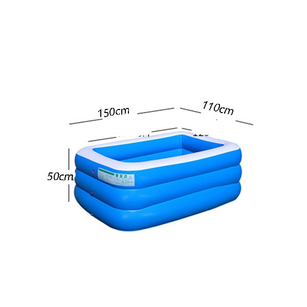 Hot Sale Inflatable Swimming Pool Children Ocean Pool Baby Bath Swim Tubs Plus Size Large PVC Kids Swimming Pools Eco-friendly