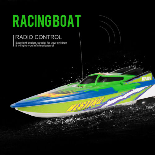 RC Boat High Speed Boat Radio Controlled Motor Boat 20km/H Toy Gifts For Kids US