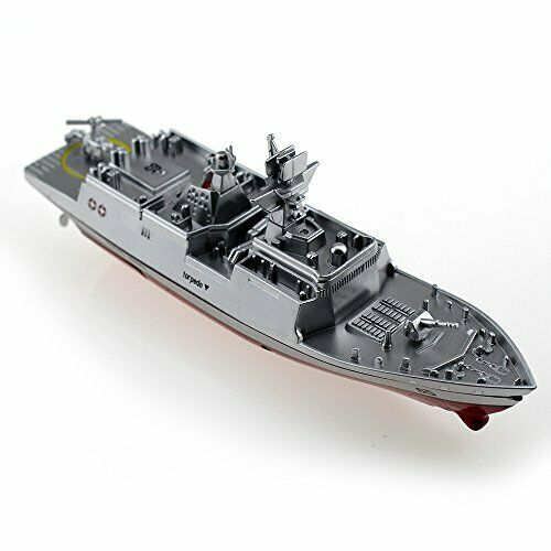 Tipmant Military RC Naval Ship Vessel Model Remote Control Boat Speedboat Yacht