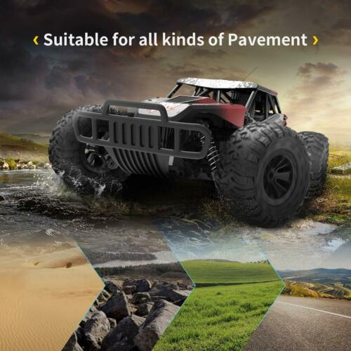 20km/h RC Car Crawler Monster Truck High Speed 2.4Ghz Remote Control Car toys US